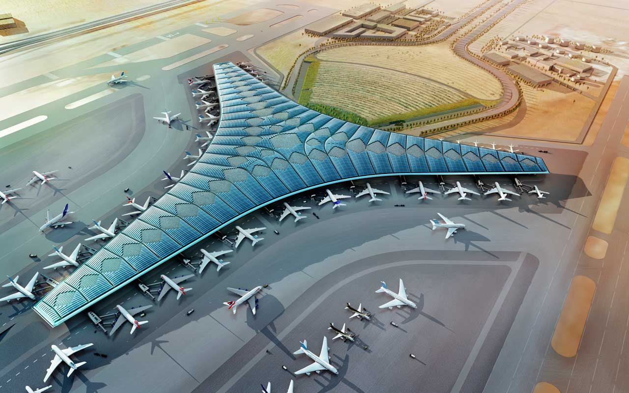 Our Company Won The Tender For Kuwait International Airport's New